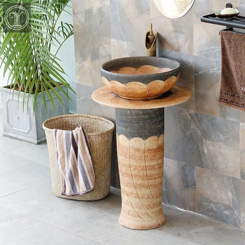 High Quality Bathroom Products Of Wash Basins And Pedestal Sinks